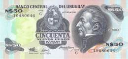 50 Nuevos Pesos Uruqay 1978 - Uruguay