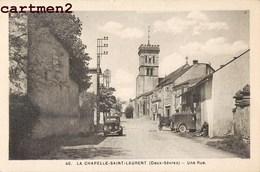 LA CHAPELLE-SAINT-LAURENT LA RUE DE LA POSTE 79 DEUX-SEVRES - Sauze Vaussais