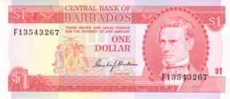 1 (Barbados)- Dollar Barbados 1977 - Barbados (Barbuda)