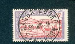 CAMEROUN KAMERUN N°111  OB. NANGA -EBOKO 31 JUILLET 1934 BUREAU RARE TB - Cameroun (1915-1959)