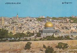 JERUSALEM--vieille Ville--seen From Mt. Of Olivies--voir 2 Scans - Palästina