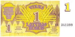 1 Lettischer Rubel Lettland 1992 - Lettonie