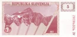 5 Tolar Slowenien 1992 - Slowenien