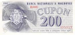 200 Lei Moldavien 1992 - Moldawien (Moldau)