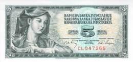 5 Dinara Jugoslawien 1965 - Jugoslawien