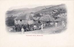 CARTOLINA - POSTCARD - BARBADOS - THATCHED HUTS - Barbados