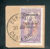 CAMEROUN KAMERUN N°78  OB. BERTOUA 20 DECEMBRE 1935 BUREAU RARE TB - Cameroun (1915-1959)