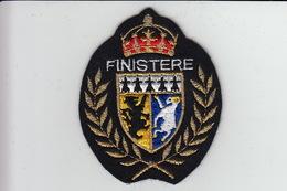 ECUSSON Tissu Brodé - FINISTERE - Ecussons Tissu