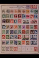 \Y ALGERIA\Y 1924-1987 ALL DIFFERENT Mint & Used Collection On Printed Pages, Mostly Pre 1950's With Some Complete Sets  - Timbres
