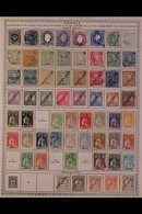 \Y ANGOLA\Y 1870-1974 ALL DIFFERENT Mint & Used Collection, Chiefly On Printed Pages, Collection Strength In Pre 1960's  - Timbres