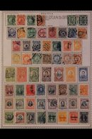 \Y BOLIVIA\Y 1868-1983 ALL DIFFERENT Mint & Used Collection, Chiefly On Printed Pages, Collection Strength In Pre 1960's - Timbres