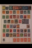 \Y CHILE\Y 1850's-1990's. ALL DIFFERENT Mint & Used Collection, Chiefly On Printed Pages, Collection Strength In Pre 197 - Timbres