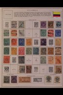 \Y COLUMBIA & STATES\Y 1860's-1990's. ALL DIFFERENT Mint & Used Collection, Chiefly On Printed Pages, Collection Strengt - Timbres