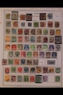 \Y DENMARK\Y 1851-1993 ALL DIFFERENT Mint & Used Collection (mostly Used) On Printed Pages, Inc 1851 4rs, 1854 4s & 8s,  - Timbres