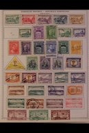 \Y DOMINICAN REPUBLIC\Y 1880's-1990's ALL DIFFERENT Mint & Used Collection On Printed Pages, Many Complete Sets, Useful  - Timbres