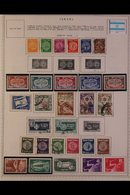 \Y ISRAEL\Y 1948 - 2000's. ALL DIFFERENT Mint & Used Collection On Printed Pages, Many Complete Sets (no Tabs) With Coll - Timbres