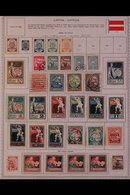 \Y LATVIA\Y 1918-1940. ALL DIFFERENT Mint & Used Collection On Pages With Sets, Airs & A Good Range Of Definitive Issues - Timbres