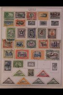 \Y LIBERIA\Y 1885 - 1981. ALL DIFFERENT Mint & Used Collection On Printed Pages, Collection Strength In Pre 1960's Range - Timbres