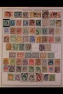 \Y NETHERLANDS\Y 1852 - 2000's. EXTENSIVE ALL DIFFERENT Mint & Used Collection, Presented Mostly On Printed Pages With M - Timbres