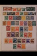 \Y NICARAGUA\Y 1860's-1980's. ALL DIFFERENT Mint & Used Collection On Printed & Plain Pages, Many Complete Sets & Top Pe - Timbres