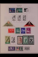 \Y NIGERIA\Y 1960's - 1990's ALL DIFFERENT Mint & Used Collection On Printed Pages With A Useful Range Of Issues, Sets & - Timbres
