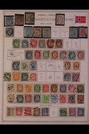 ""\Y NORWAYY 1855 - 1990's. ALL DIFFERENT Mint & Used Collection On Printed Pages With Useful """"Earlies"""", Includes 1855 Im - Timbres""130|195|?|en|2|9cc02ccc66854426fe8b63f4b6834754|False|UNLIKELY|0.2976306974887848