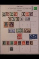\Y PAKISTAN\Y 1947-1984.ALL DIFFERENT Mint & Used Collection On Printed Pages With A Useful Range Of Issues, Sets & Rup - Timbres