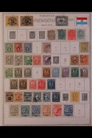 \Y PARAGUAY\Y 1852 - 2000's. EXTENSIVE ALL DIFFERENT Mint & Used Collection, Presented Mostly On Printed Pages With Many - Timbres