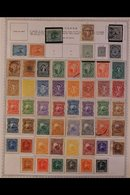 \Y SALVADOR\Y 1860's - 1980's. EXTENSIVE ALL DIFFERENT Mint & Used Collection, Presented Mostly On Printed Pages With Ma - Timbres