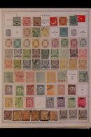 \Y TURKEY\Y 1860's - 1990's.EXTENSIVE ALL DIFFERENT Mint & Used Collection, Presented On Printed Pages Plus Many Additi - Timbres
