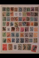 \Y URUGUAY\Y 1870's - 1980's. ALL DIFFERENT Mint & Used Collection, Presented Mostly On Printed Pages With Many Complete - Timbres