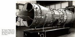 BRISTOL OLYMPUS TURBOJET ENGINE  20 * 11  CM Aviation, AIRPLAIN, AVION AIRCRAFT - Aviación
