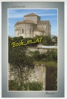 {80490} 17 Charente Maritime Talmont , Eglise Romane Sainte Radegonde Au Dessus Des Jardins - France