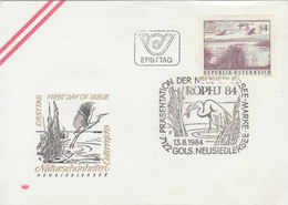 AUSTRIA 1984 FDC With Swan.BARGAIN.!! - Cygnes