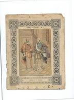 HENRI IV Et SULLY Hommes De Guerre Passable  Protège-cahier Couverture   225 X 170  3 Scans - Protège-cahiers