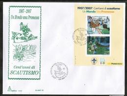 CEPT 2007 IT MI BL 39 ITALY FDC - 2007