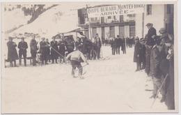 01 - HAUTEVILLE : COUPE SKI GERARD MONTEFIORE. Carte Photo. - Hauteville-Lompnes