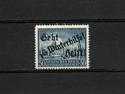 1942 Germany Occupation Poland Winterhilfe Overprint Postfrisch - Occupation 1938-45