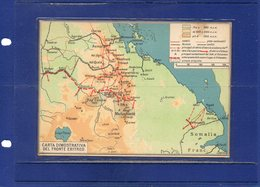 ##(DAN193)-Maps-East Africa Series N.13-The Eritrean Front ## Serie Africa Orientale N.13-Il Fronte Eritreo - Carte Geografiche