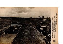 1914-15... AUX DARDANELLES - Autos Blindées En Action.  CPA En Bon état. Non Circulé. Extrait D'un Carnet. - Weltkrieg 1914-18