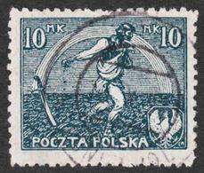 Poland - Scott #154 Used - 1919-1939 Republic