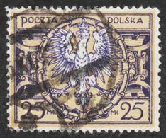 Poland - Scott #163 Used - 1919-1939 Republic