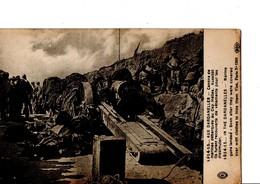 1914-15... AUX DARDANELLES - Canons De Marines Débarqués Au Cap Helles. Aussitôt Ils Furent Recouverts De Vêtements Pour - Weltkrieg 1914-18