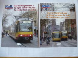 TRAINS : ALLEMAGNE TRAM-TRAIN De KARLSRUHE - LIGNE De La MURGTALBAN - Lot De 2 DVD La Vie Du Rail - Documentary