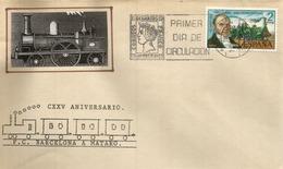 Ferrocarriles Españoles (RENFE)  Barcelona A Mataro 1974 - 1971-80 Briefe U. Dokumente