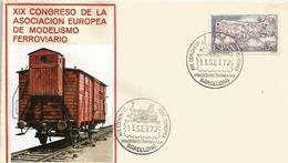 Congreso De La Asociacion Europea De Modelismo Ferroviaro. Barcelona  1972 - 1971-80 Briefe U. Dokumente