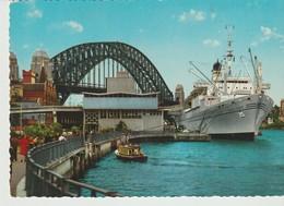 C. P.  - PHOTO - SYDNEY AUSTRALIA - OVERSEAS TERMINAL WITH GALILEO GALILEI - 797/53 - JOHN ENGELANDER - - Sydney
