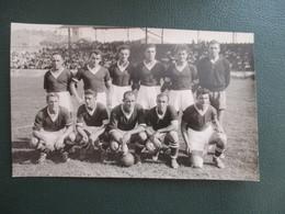 PHOTO EQUIPE  DE FOOT 30 NIMES 1949-1950 - Sporten