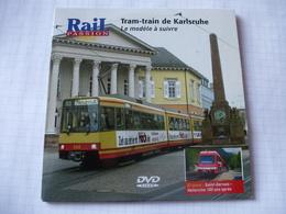 TRAINS : ALLEMAGNE TRAM-TRAIN De KARLSRUHE - Supplément Voie Métrique Saint-Gervais-Vallorcine - DVD La Vie Du Rail - Documentary