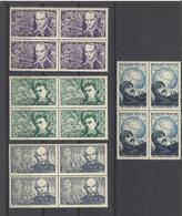 FRANCE  YT  N° 907/910  Neuf **  1951 - Neufs